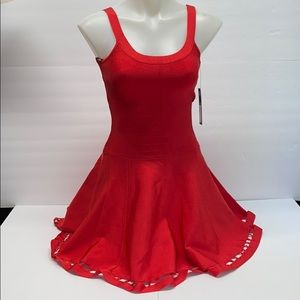 NWT MARCIANO RED DRESS